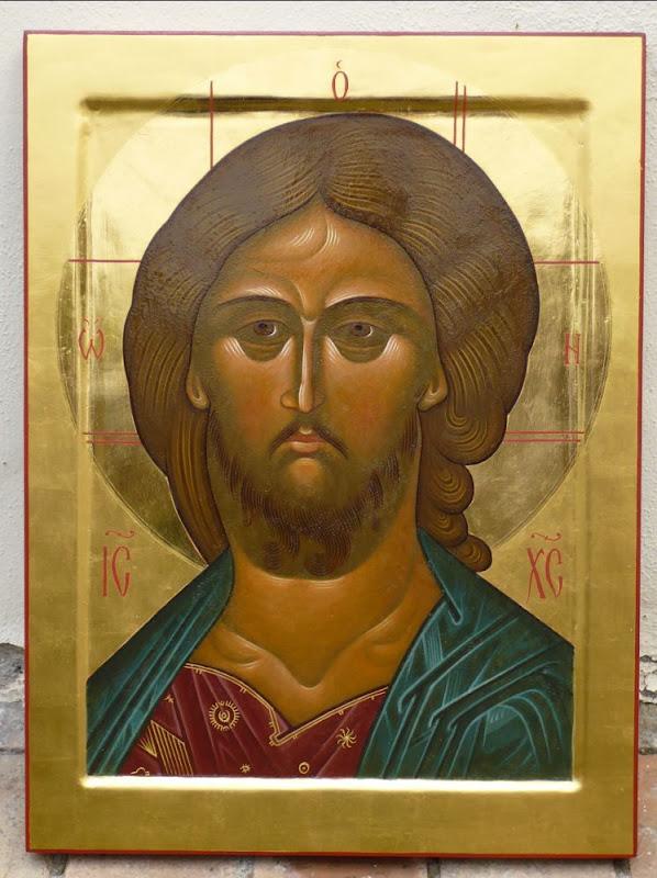 Il Salvatore - Icona dipinta da Padre Tommaso Rignanese