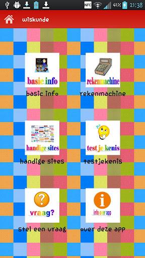 mbe's wiskunde app