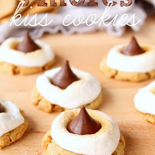 S'mores Hershey's Kiss Cookies Recipe