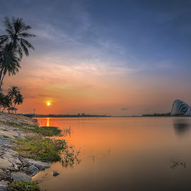 by Senthil Damodaran - Landscapes Waterscapes