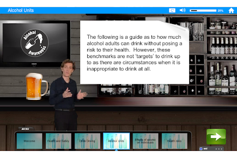 Alcohol and Drugs e-Learning - screenshot