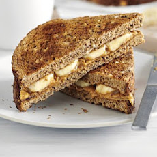 Peanut Butter & Banana On Toast