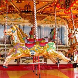 Brighton Pier Carousel by Jen Pezzotti - City,  Street & Park  Historic Districts