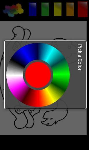 玩休閒App|彩色卡通模板4免費|APP試玩