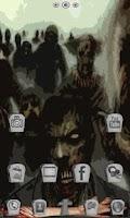Screenshot of Zombie Nights GO Launcher EX