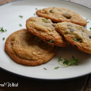 Sea Salt and Thyme Chocolate Chip Cookies (Great Food Blogger Cookie Swap)