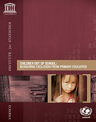 Cover of UNESCO-UNICEF publication on children out of school