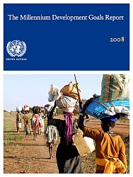 Cover of UN MDG Report 2008