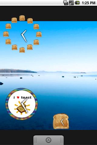 Toast Clock Widget