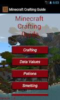 Screenshot of Crafting Table Minecraft Guide