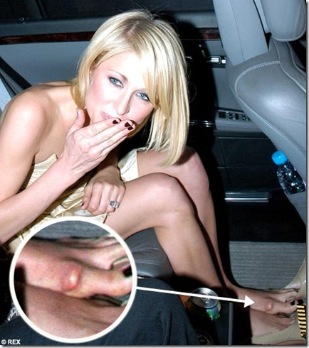 paris hilton crotch shot
