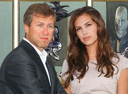 Roman Abramovich and Girlfriend Daria Zhukova photo