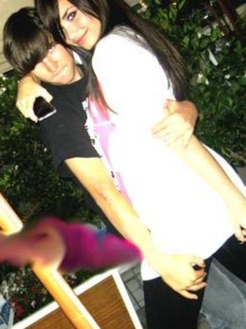 Demi Lovato boyfriend Nicholas Braun Hugging picture