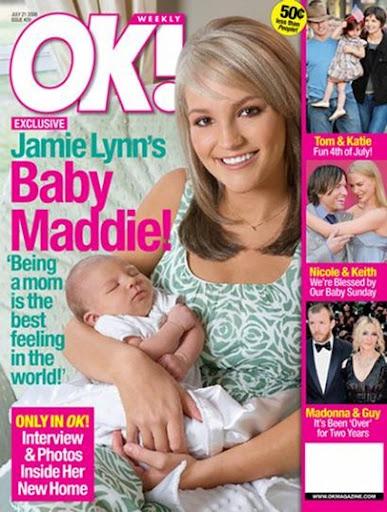 Jamie Lynn Spears baby Maddie Briann Aldridge first picture