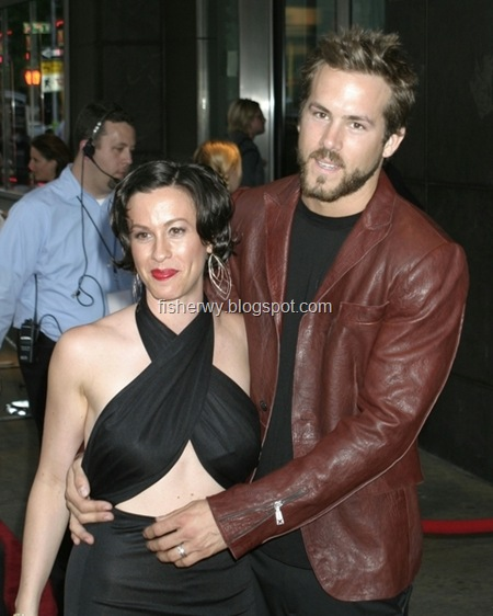 Alanis Morissette Ryan Reynolds, Photo