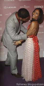 Will Smith and wife Jada Pinkett Smith  1st Annual Essence Black Women in Hollywood Luncheon  photo
