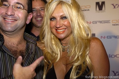 Photo of Linda Hogan Paris Hilton Record Release Party At The Mansion in 2004
