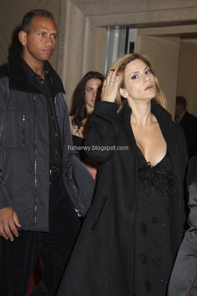 Picture of Alex Rodriguez and wife Cynthia Rodriguez, original name Cynthia Scurtis, attending 40/40 Club Sports Bar and Lounge at the Palazzo Hotel and Casino on 12/30/2007. Alex Rodriguez and wife Cynthia Rodriguez reportedly split in July, 2008