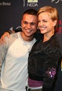 Mena Suvari  and boyfriend Simone Sestito  photo