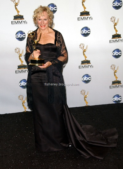 Glenn Close 2008 Emmys Best actress for drama Damages