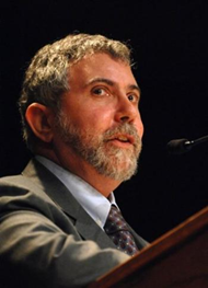 Paul Krugman New York TImes columnist Nobel Economics Prize winner pic