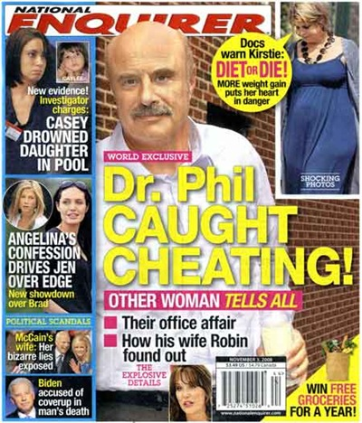 Dr Phil Caught Cheating