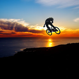 Sunset Rider by Unknown - Sports & Fitness Cycling
