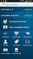 Screenshot of Elisa Wallet