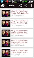 Screenshot of Chay Virakyuth