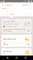 Screenshot of Noom Coach: Weight Loss Plan
