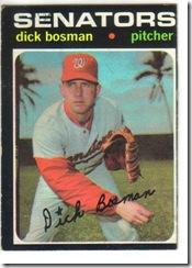'71 Dick Bosman