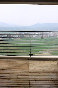 Grand balcony view