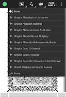 Screenshot of MobileQuran