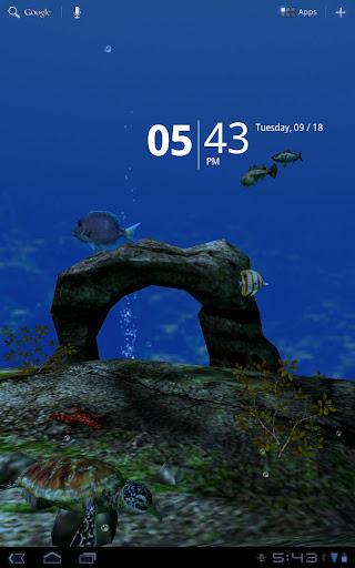 海洋水族館3D免費