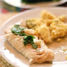 Perfect Grilled Fish with Lemon Oil & Mint
