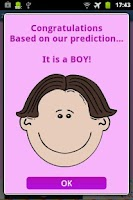 Screenshot of ZB Baby Gender Predictor
