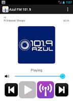 Screenshot of Uruguay Radio Online