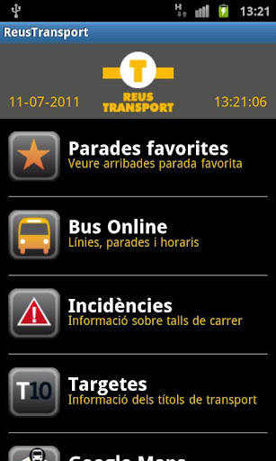 Reus Transport Bus ONLINE