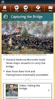 Screenshot of Antietam Battle App
