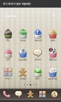 Screenshot of 우기 dodol launcher font