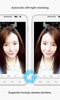 Screenshot of Silent Selfie Camera