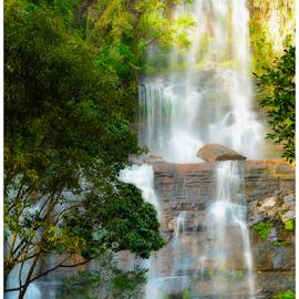 Buttermilk Falls, chikamagalur by Pratik Singh - Landscapes Waterscapes ( waterfalls, waterfall, chickamagalur, long exposure, karnataka )