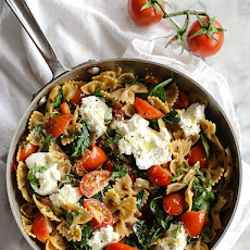Fresh Tomato and Ricotta Whole Wheat Pasta