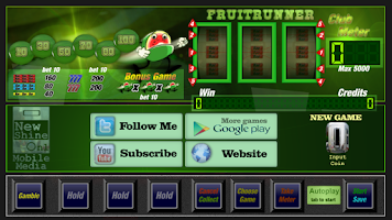 Screenshot of Slot machine fruit runner