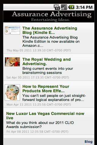 【免費商業App】Assurance Advertising-APP點子