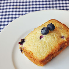 Individual Blueberry Buttermilk Loaves
