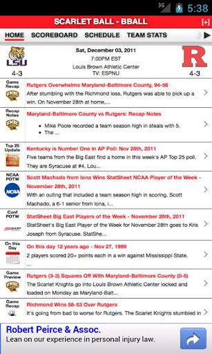 Rutgers Football Basketball