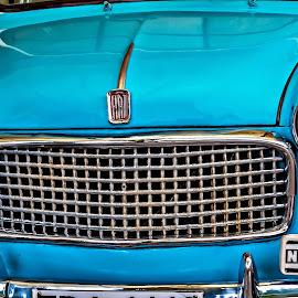 Vintage collection by Ivon Murugesan - Transportation Automobiles ( automobiles, car, vintagecar, vintage, automobile, transportation, travel, photography, sky blue, blue, transport, vintage car, india )