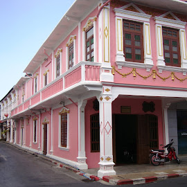 Sino-Portunguese-Architecture by Ilse Gibson - Buildings & Architecture Homes ( old town, thailand, sino-portuguese, phuket, architecture,  )
