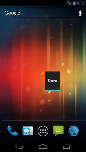 Data Toggle Widget